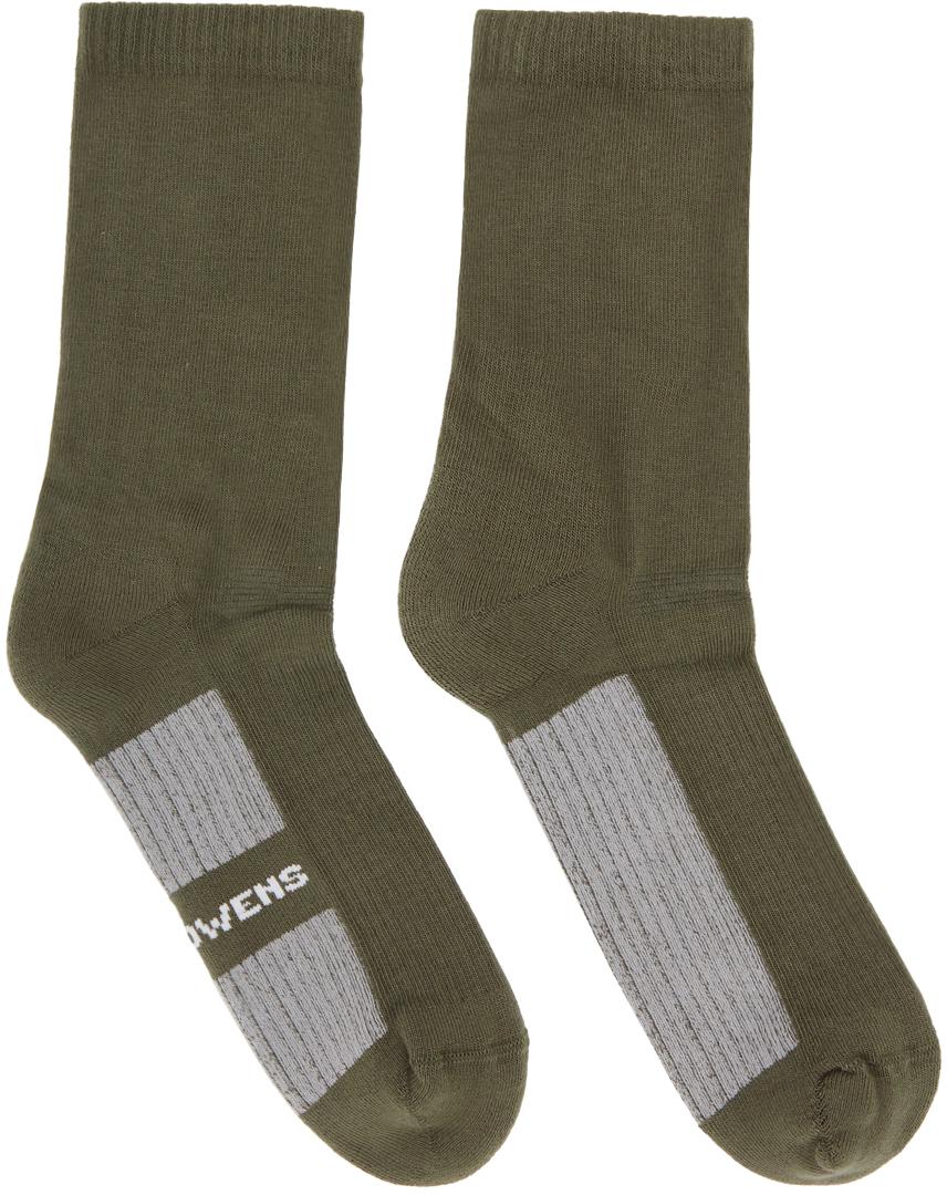 Taupe Logo Socks
