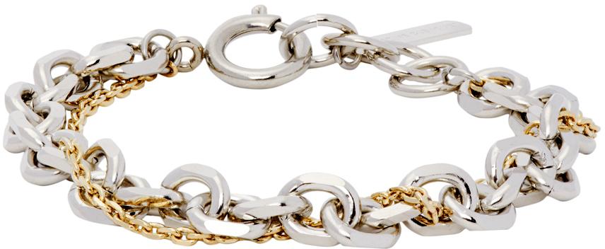 Silver & Gold Dana Bracelet
