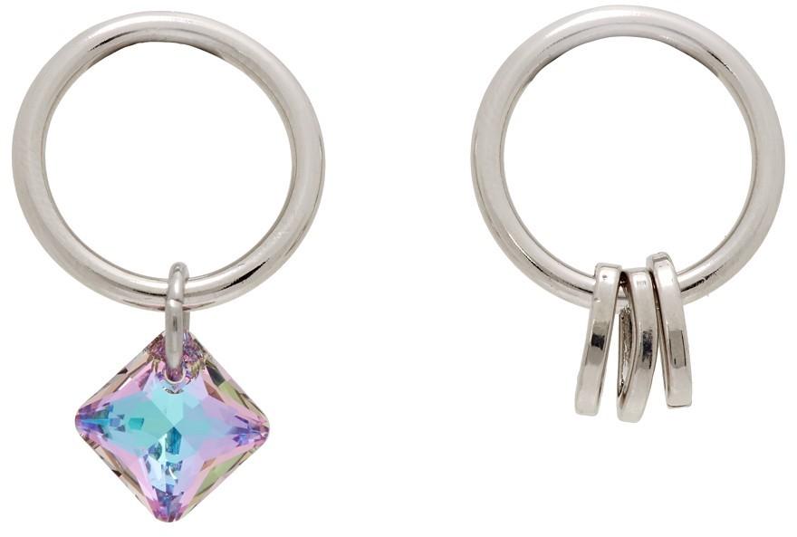 SSENSE Exclusive Purple Emma Earrings