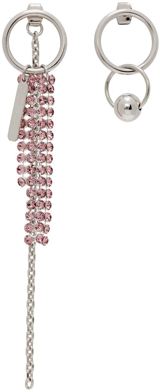 SSENSE Exclusive Pink Jess Earrings