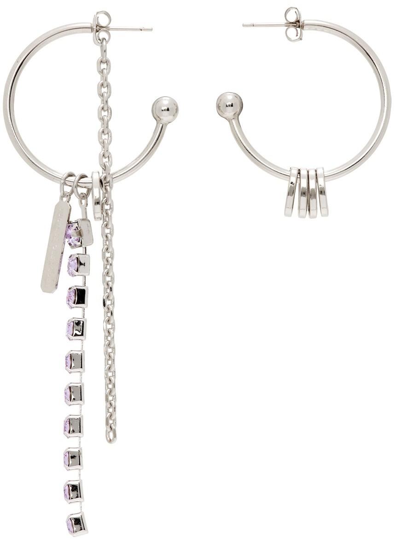 SSENSE Exclusive Purple Petra Earrings