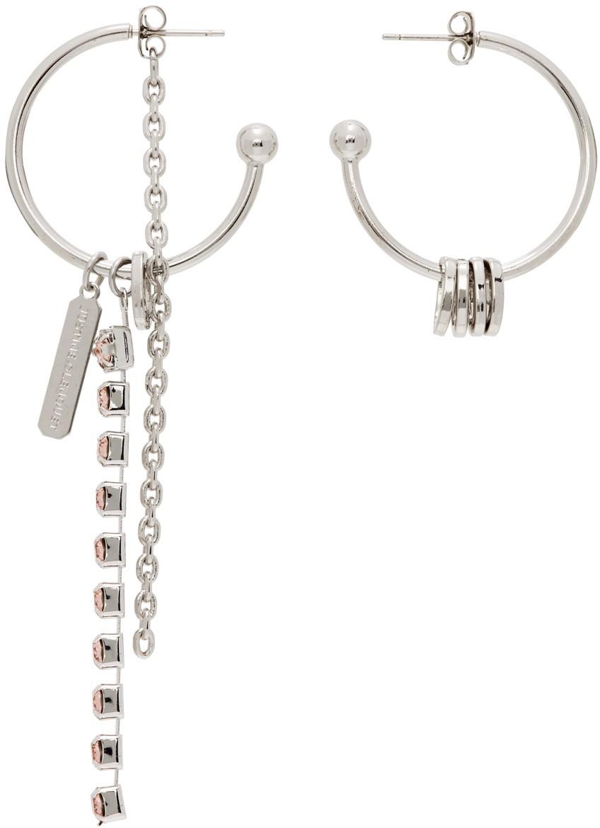 SSENSE Exclusive Pink Petra Earrings