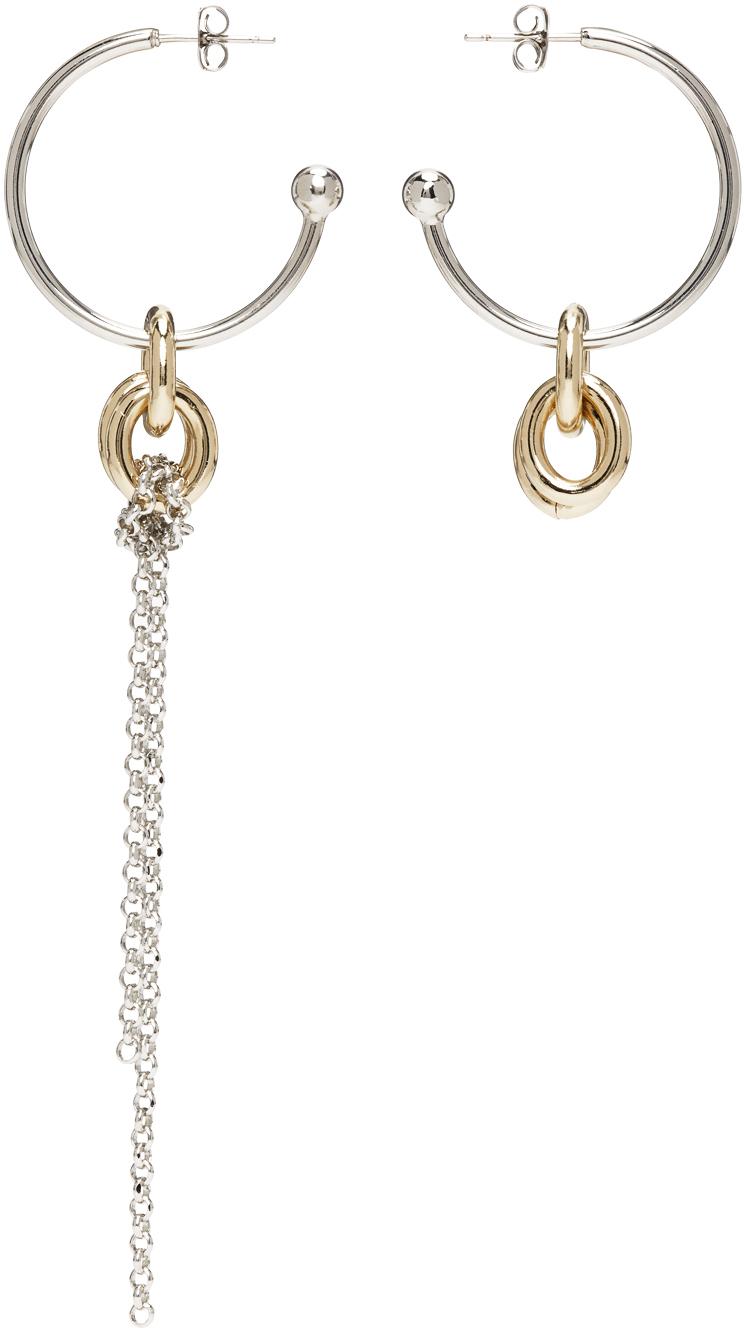 Gold & Silver Geena Earrings