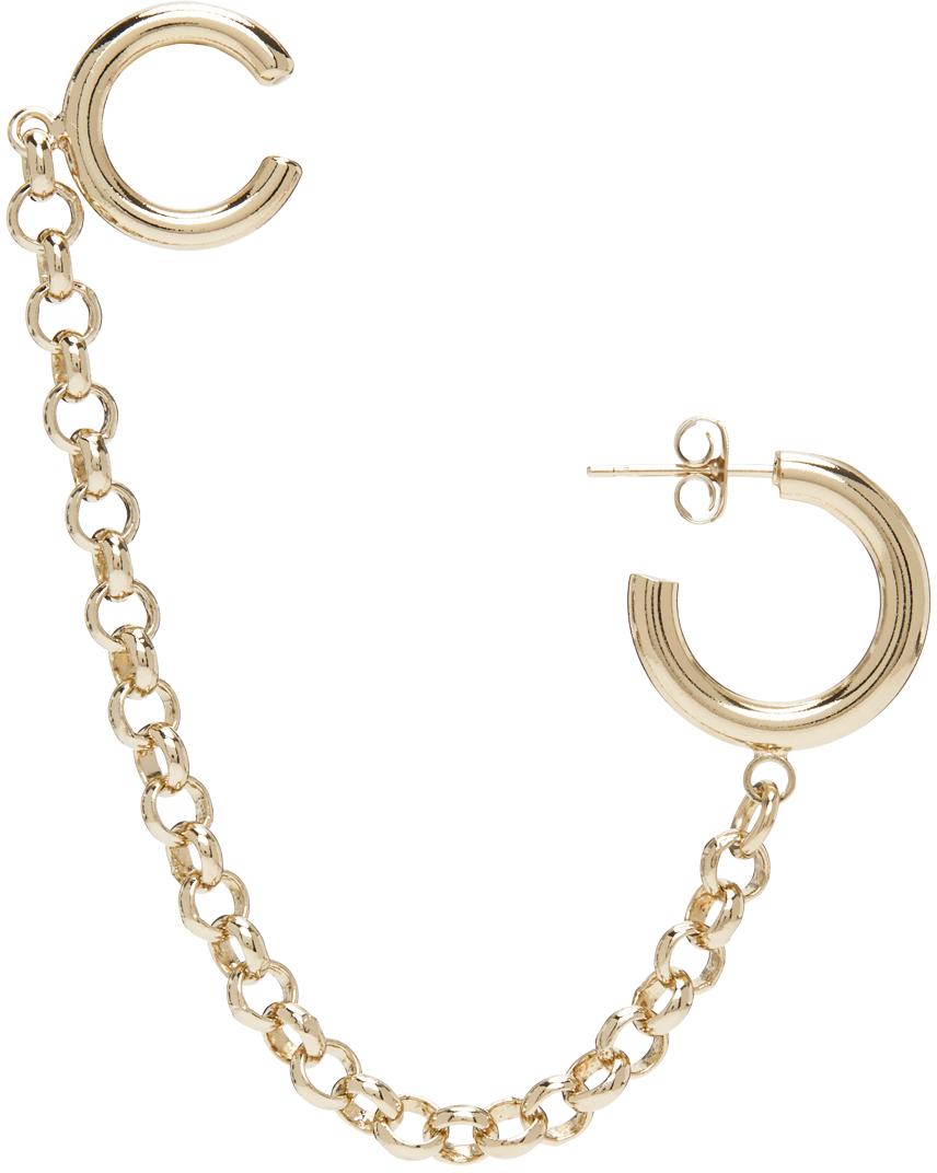 Gold Mickee Ear Cuff Earring