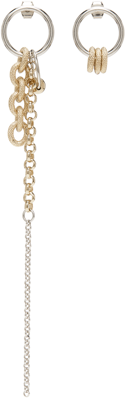 Gold & Silver Tara Earrings
