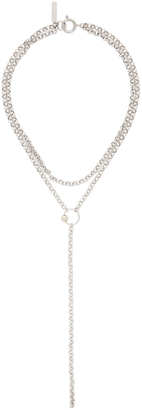Silver Saul Necklace