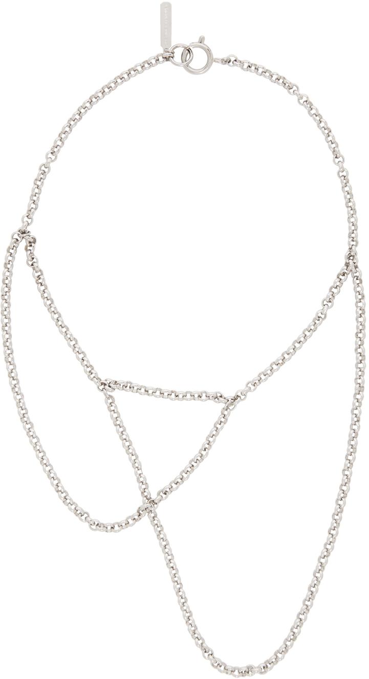 Silver Slim Necklace