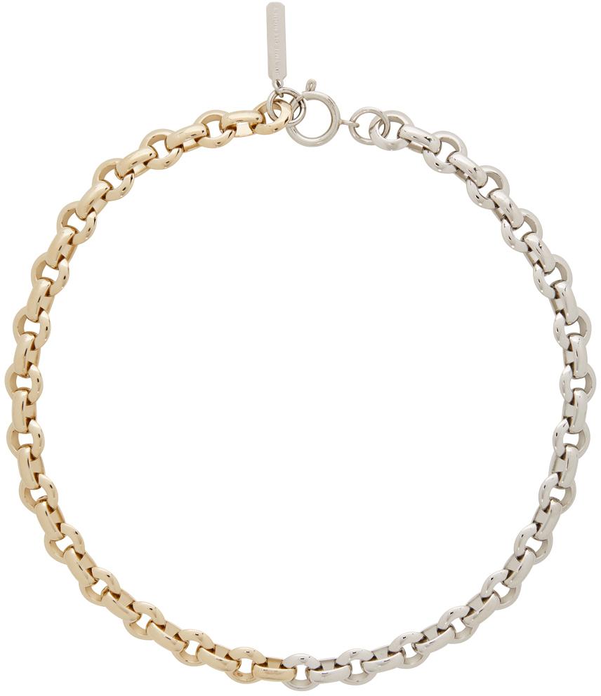 Gold & Silver Norma Choker