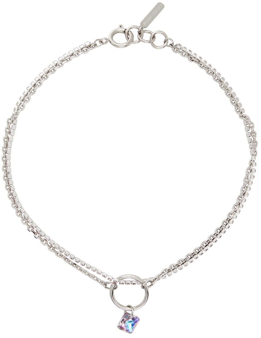 SSENSE Exclusive Pink & Purple Laura Necklace