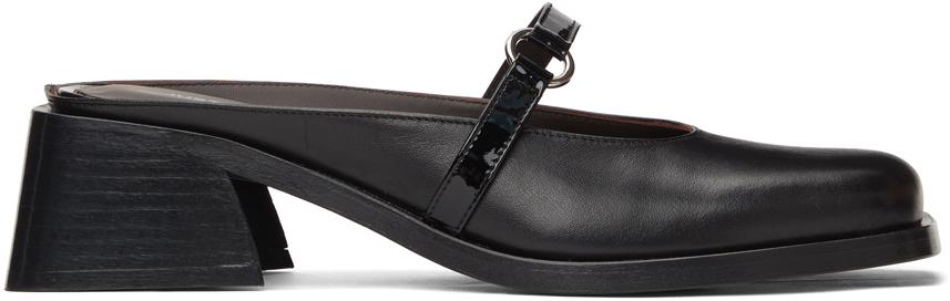 Black Uma Loafers