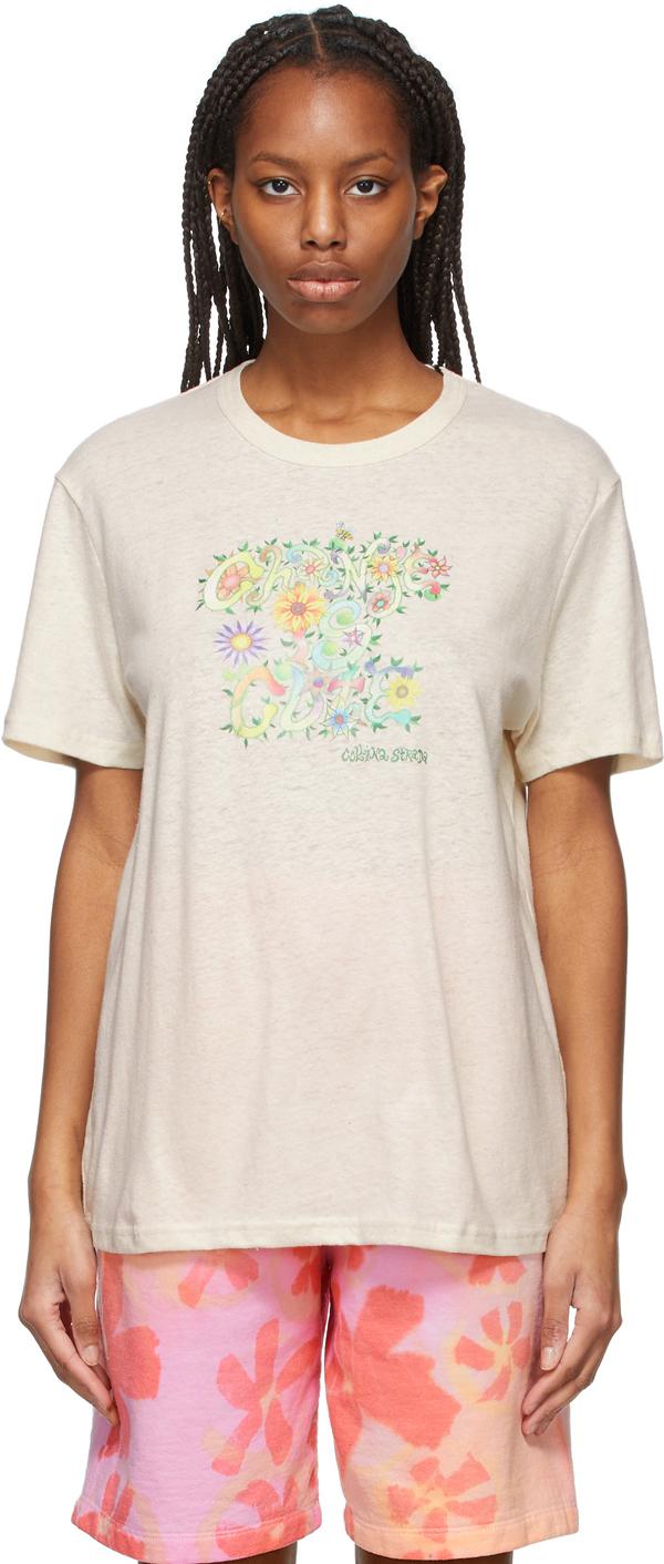 Beige 'Change Is Cute' T-Shirt