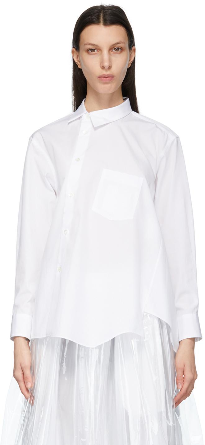 ホワイト シャツ