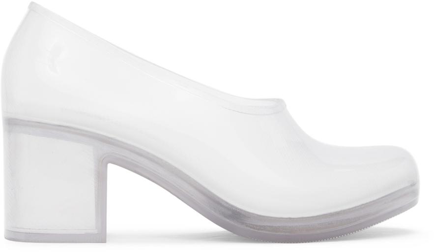 Transparent Melissa Edition PVC Heels