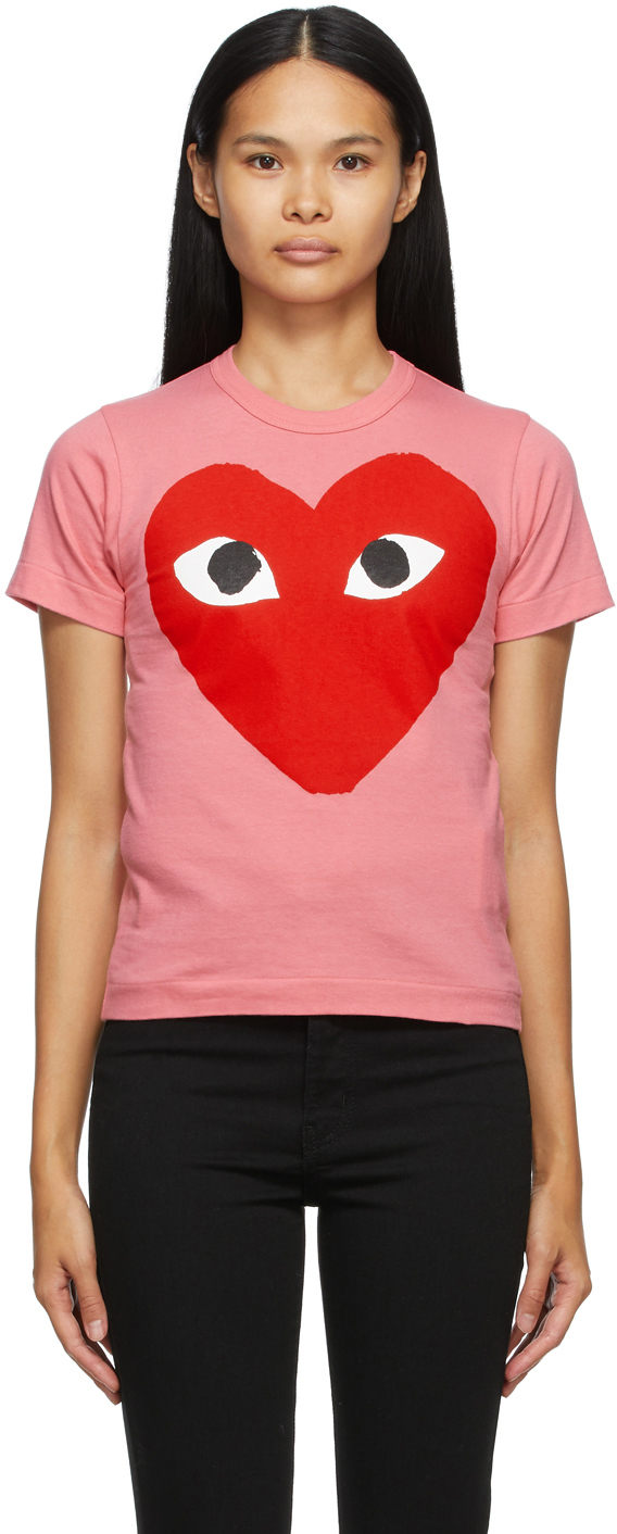 Pink Big Heart T-Shirt