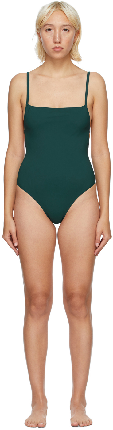 Green Tre One-Piece Swimsuit