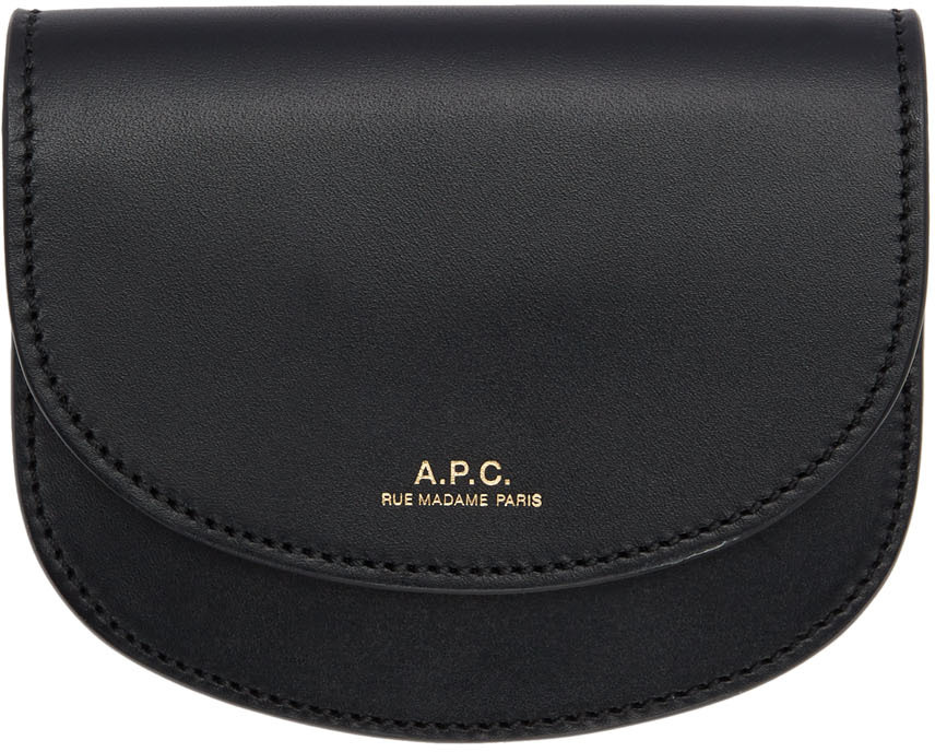 Black Compact Genève Wallet