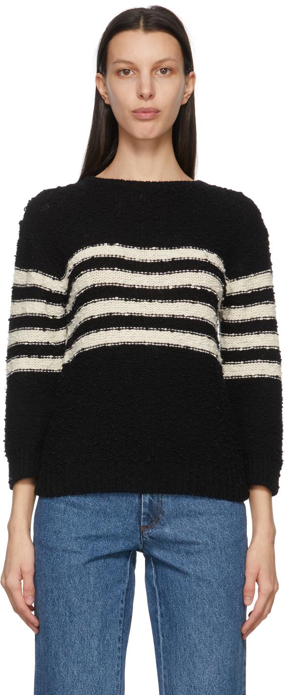 A.P.C. 黑色 Luzia Sailor 毛衣