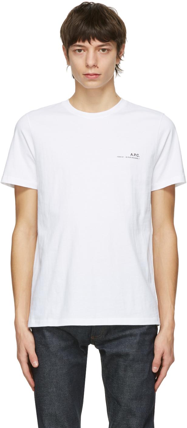 White Item T-Shirt