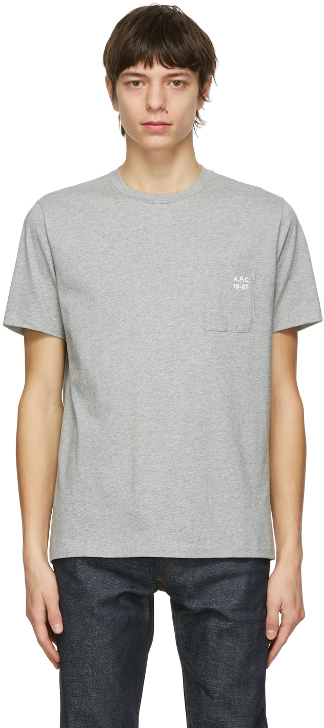 Grey Andrew T-Shirt