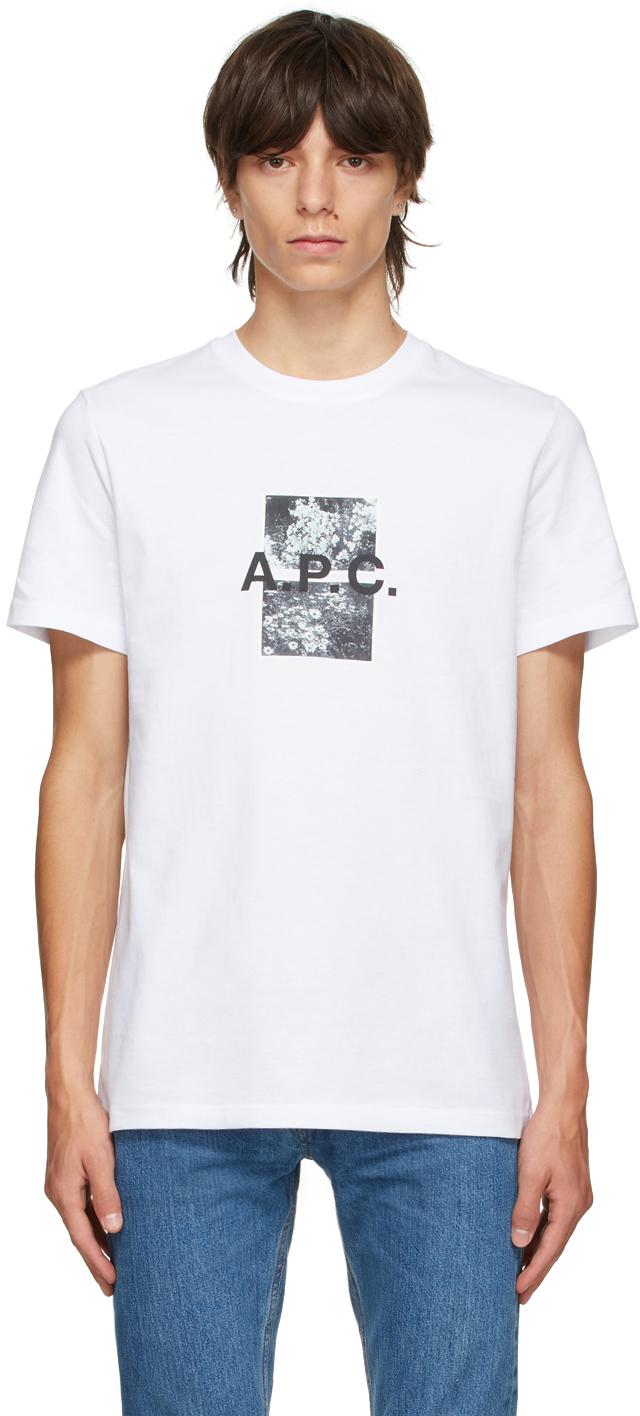 White Graphic Teddy T-Shirt