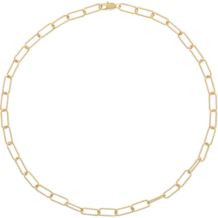 Gold Rosa Necklace
