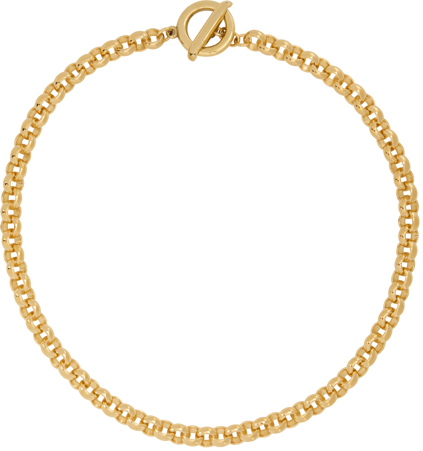 Gold Isa Chain Necklace