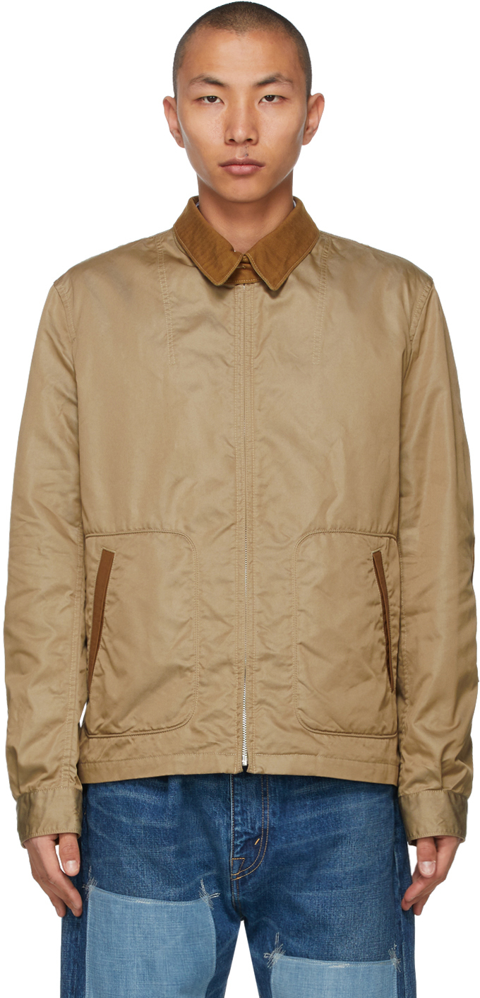 Beige Jasper Morrison Edition Twill 'The Hard Life' Jacket