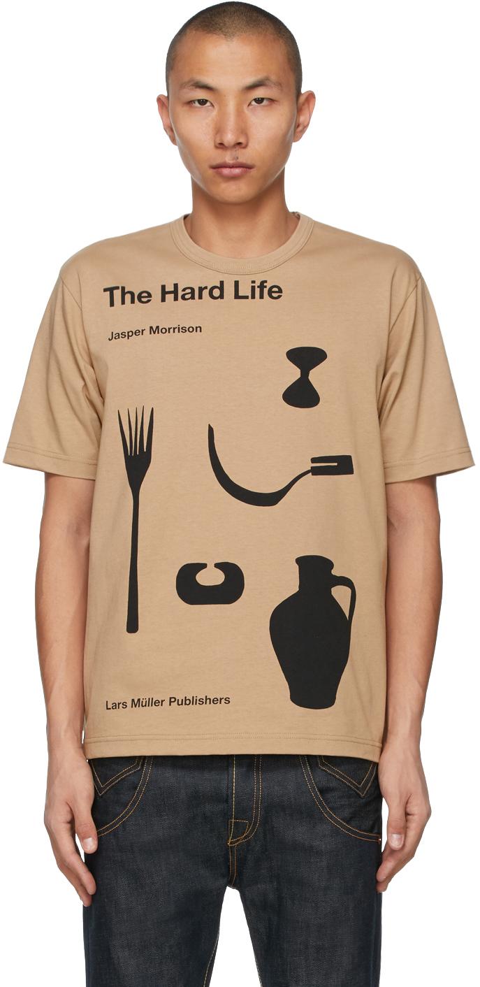 Beige Jasper Morrison Edition 'The Hard Life' T-Shirt