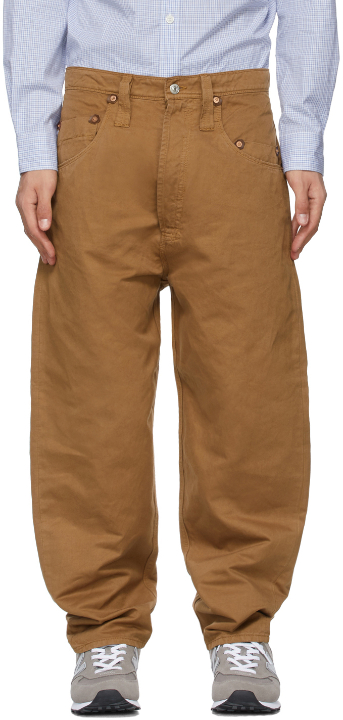 Tan Levi's Edition Garment-Dyed Trousers