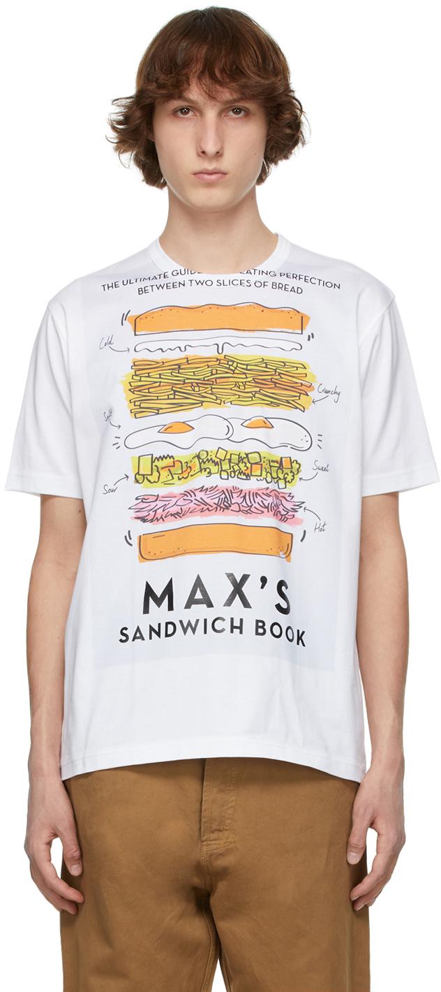 White Max Halley Edition Printed T-Shirt