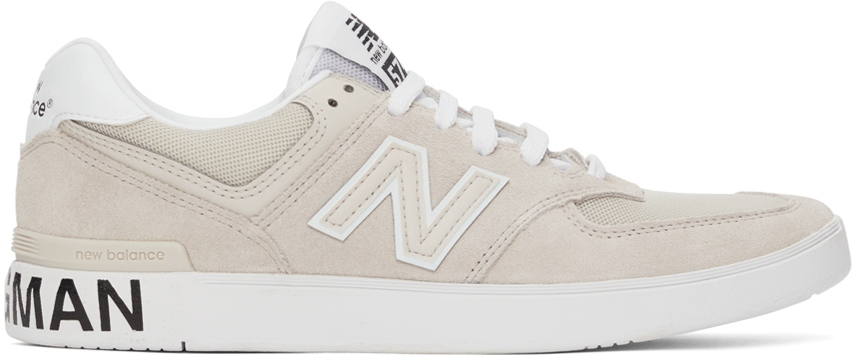 Beige New Balance Edition AM574 Sneakers