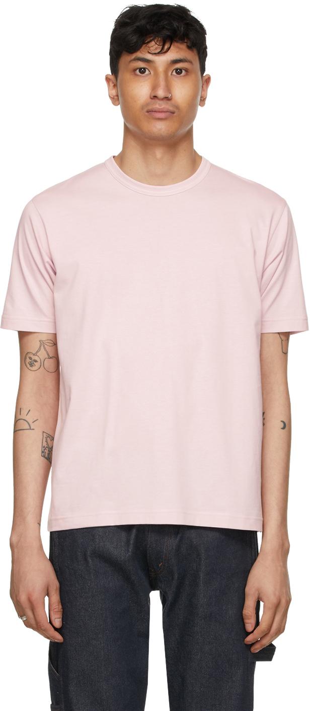 Pink Jersey 'Man' T-Shirt