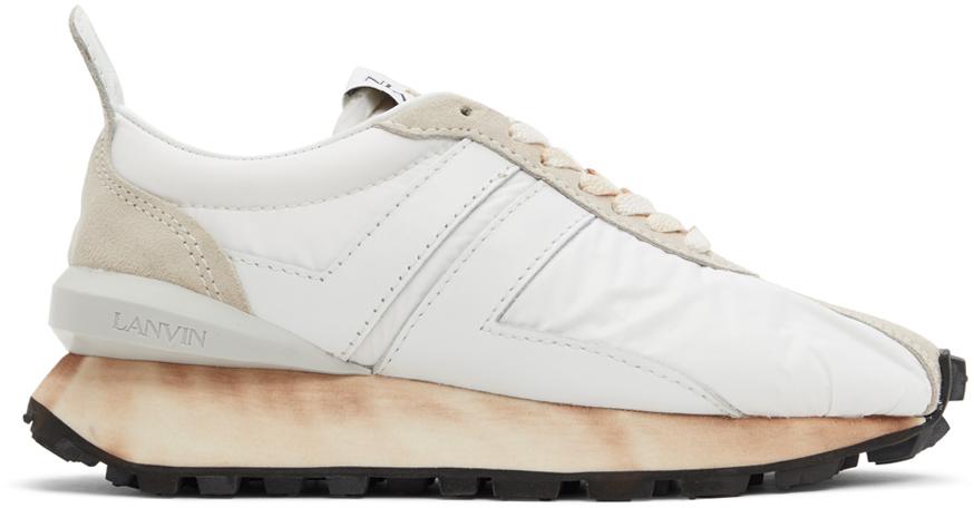 White Bumpr Sneakers