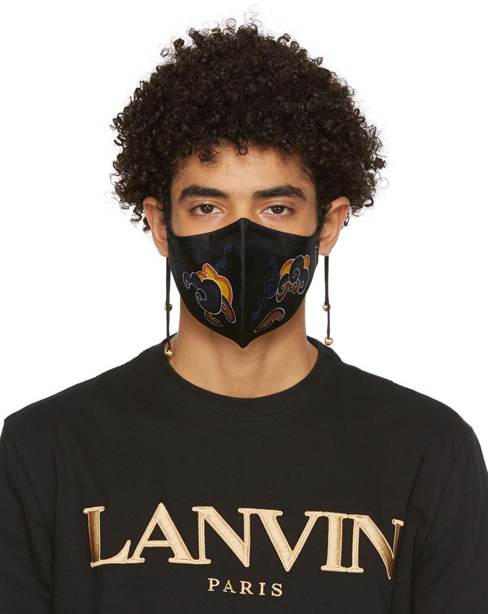 Lanvin 黑色 Clouds 口罩