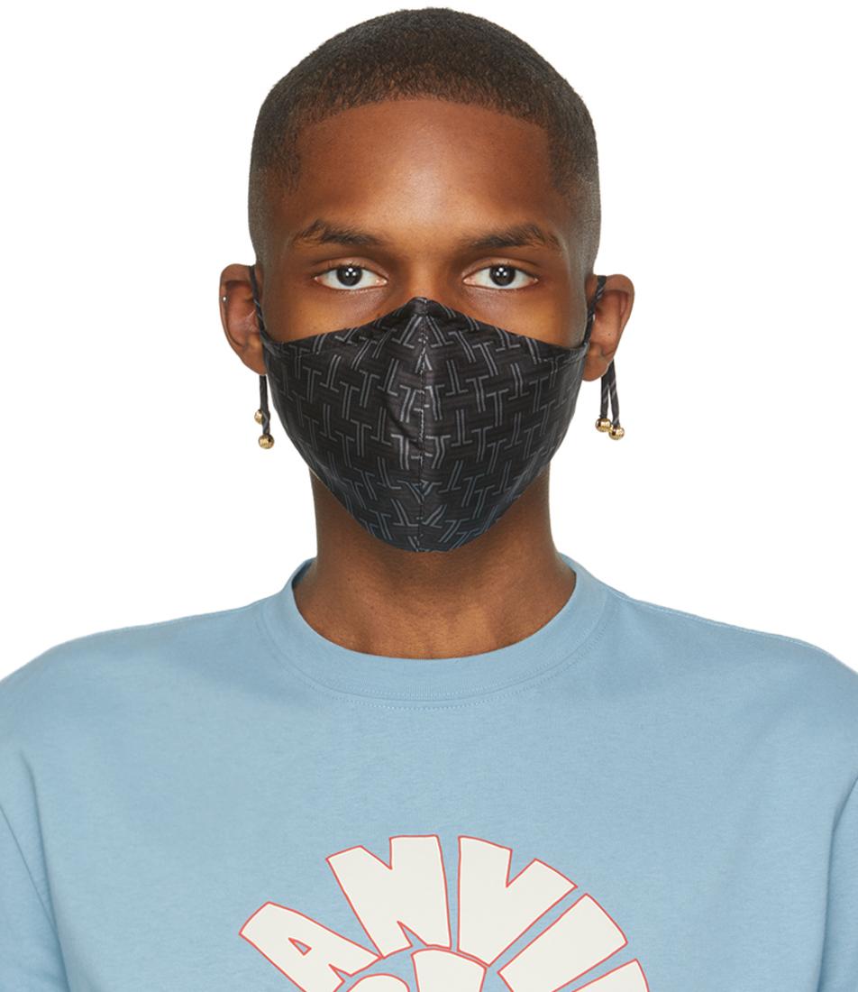 Black JL Maze Face Mask