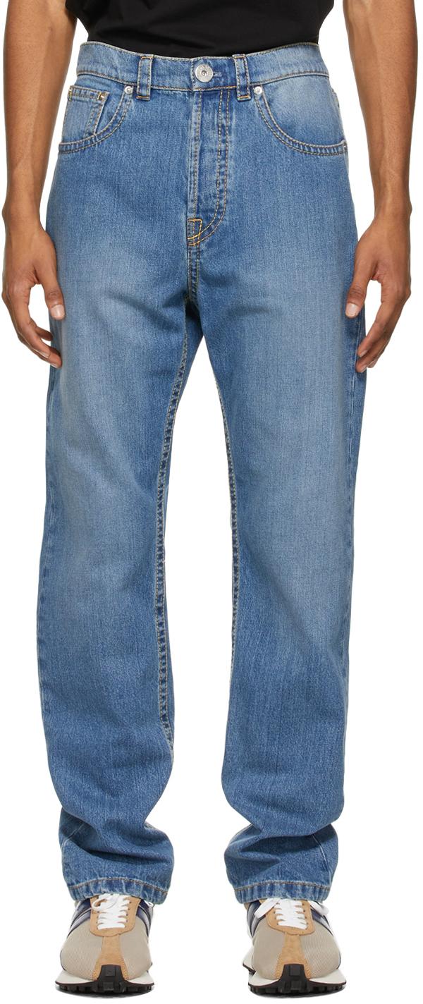 Blue 5 Pocket Jeans