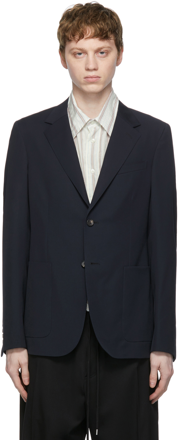 Navy New Soft Blazer