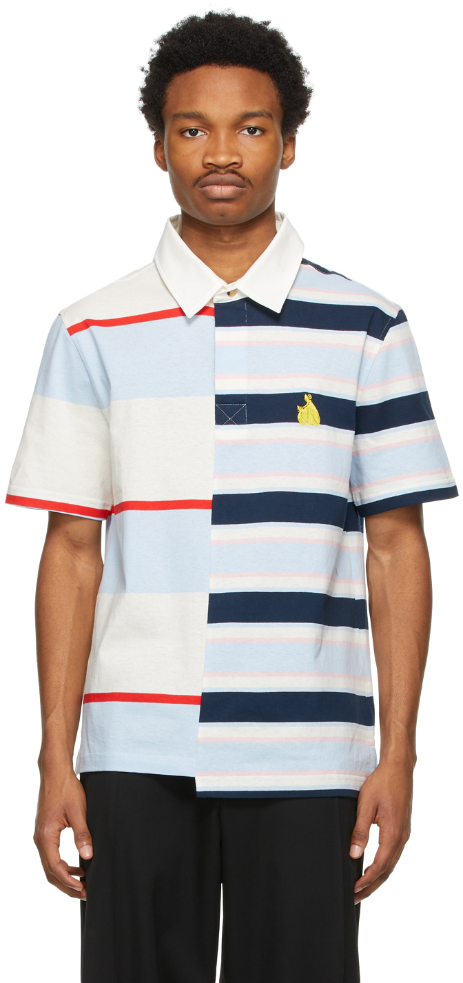 Multicolor Rugby Patchwork Polo