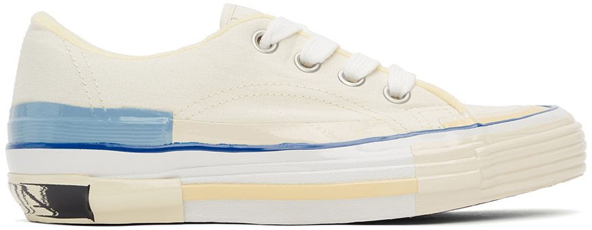 Off-White Vulcanized Mlted Sneakers