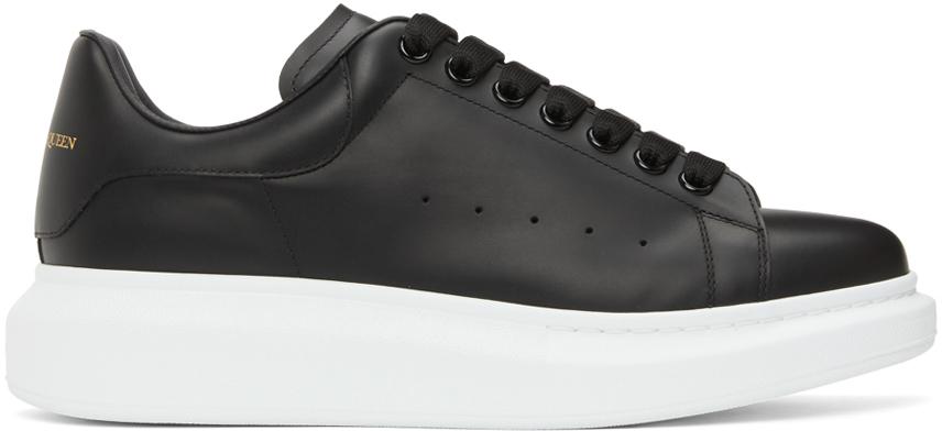 Alexander McQueen Black & White Oversized Sneakers