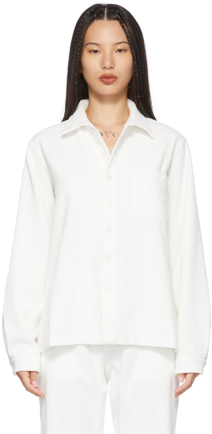 White Corduroy Shirt