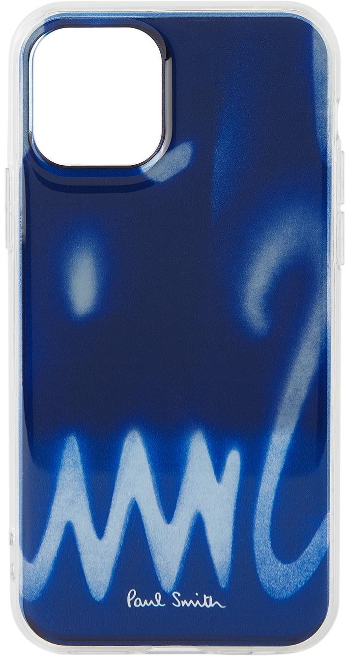 Navy Spray iPhone 11 Pro Case