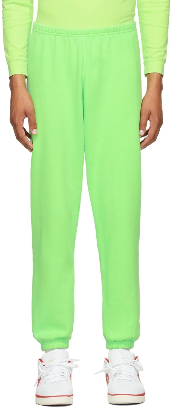 Green Logo Lounge Pants