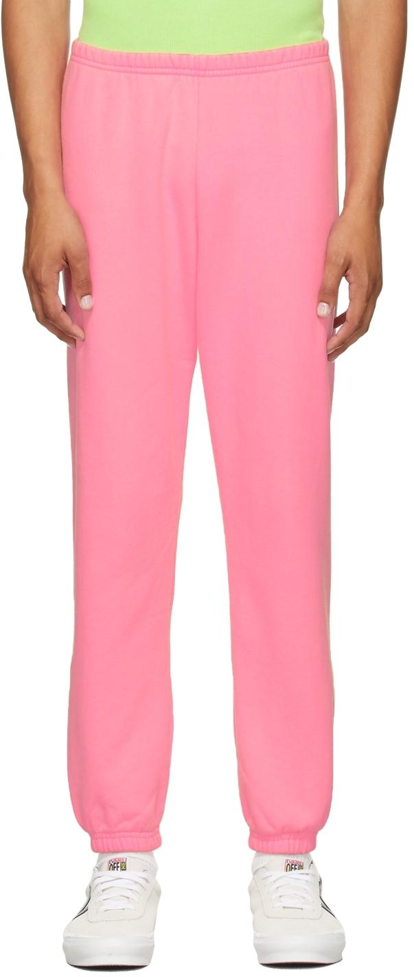 Pink Logo Lounge Pants