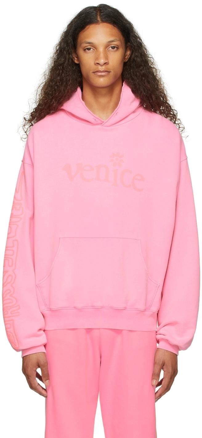 Pink 'Venice Be Nice' Hoodie