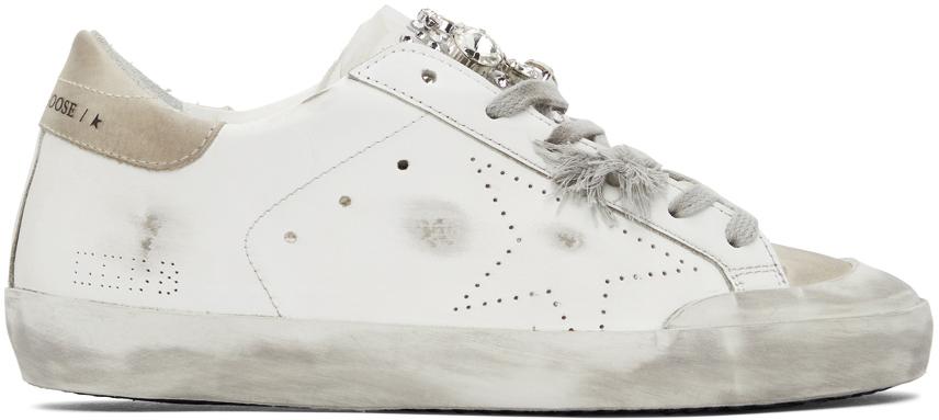 Golden Goose White Super-Star Skate Penstar Sneakers