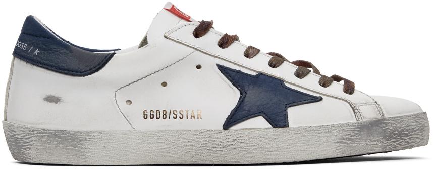 Golden Goose 白色 Superstar 运动鞋