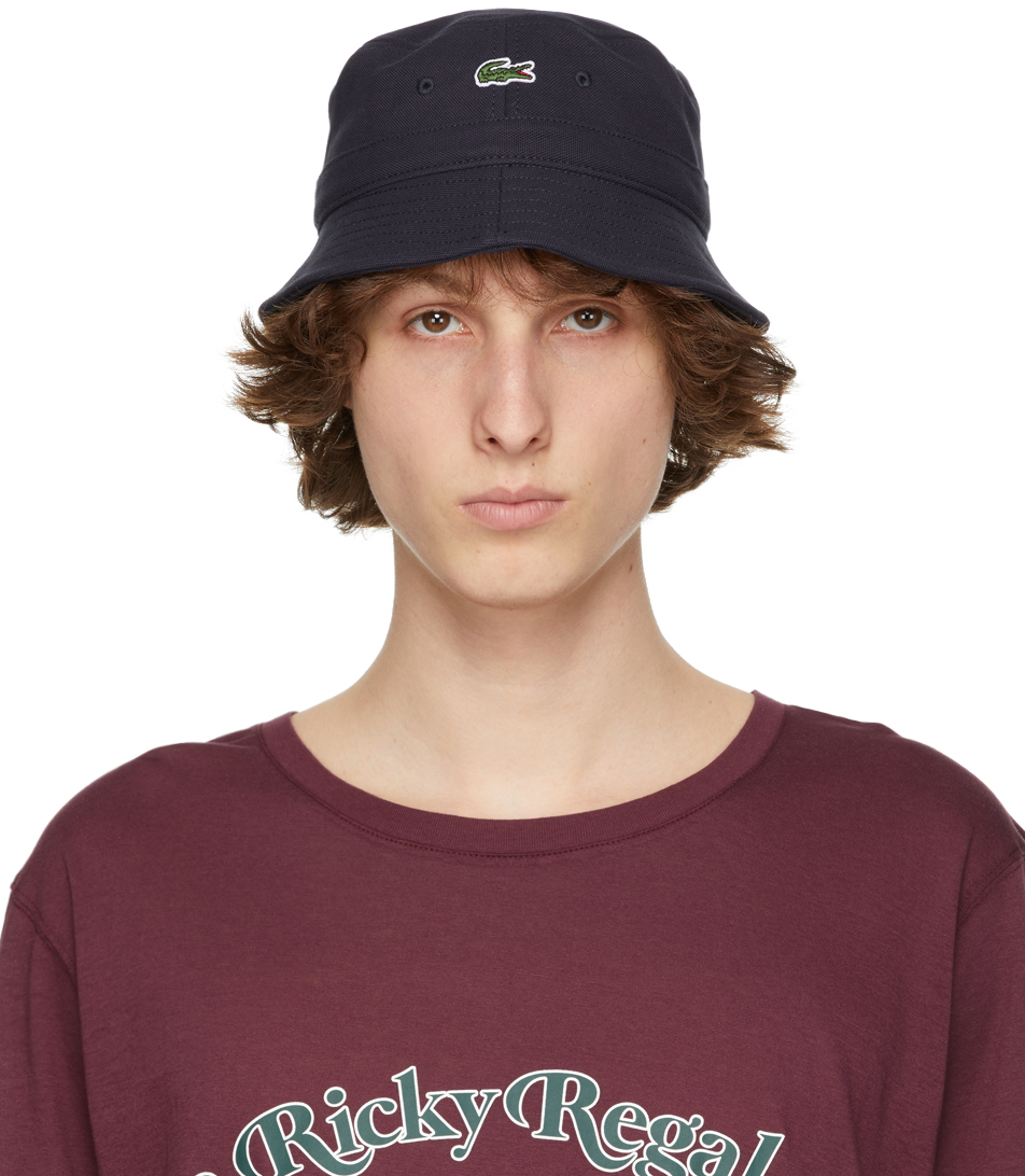 Navy Canvas Bucket Hat