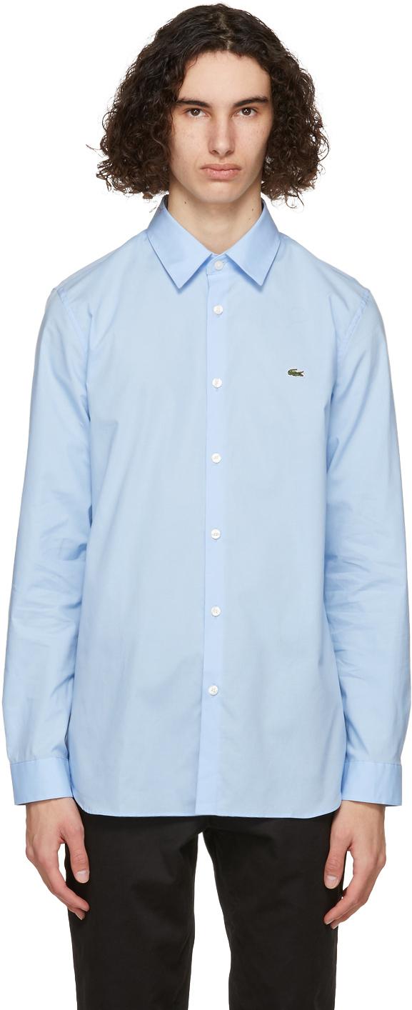 Blue Stretch Slim Fit Shirt