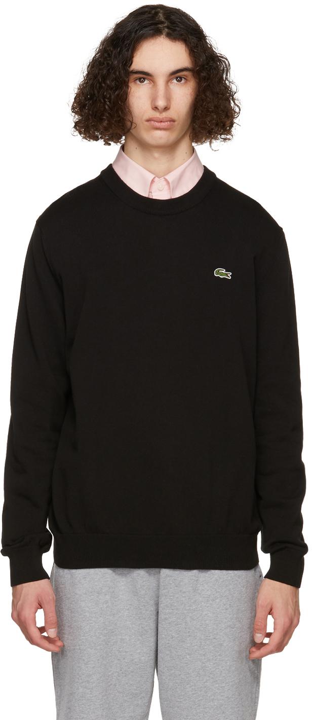 Black Organic Cotton Sweatshirt